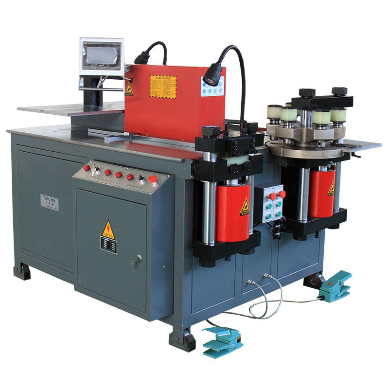 CNC three-station busbar processing machine cnc machine JPMX-303ESK