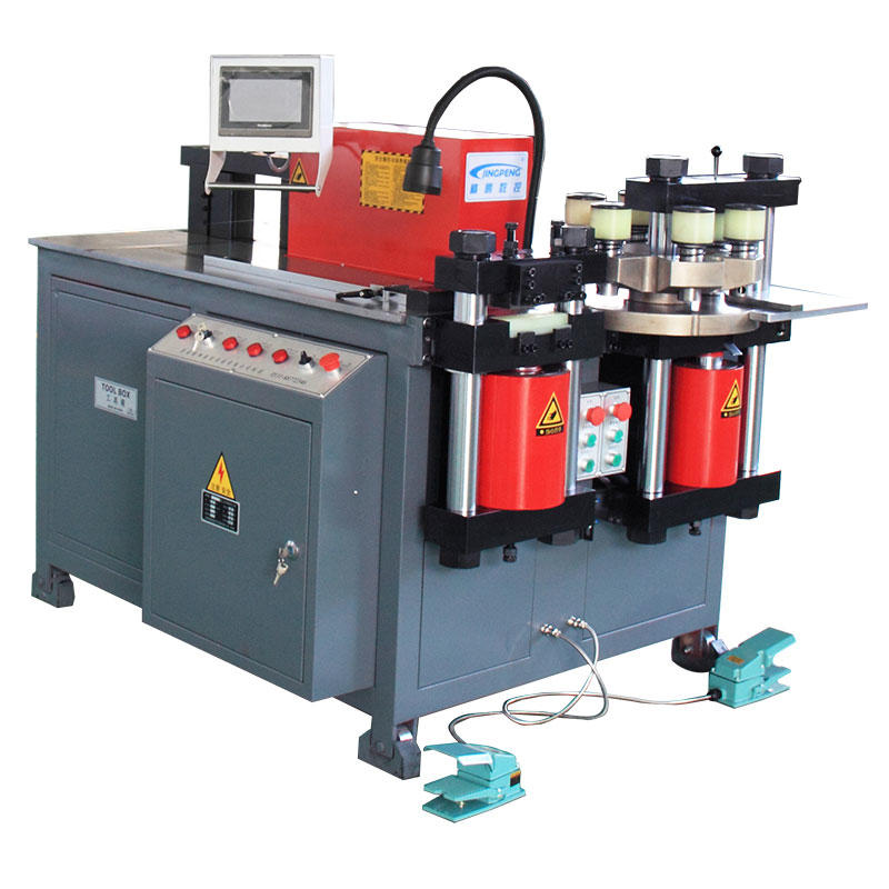 CNC machine cnc three-station busbar processing machine JPMX-303SK
