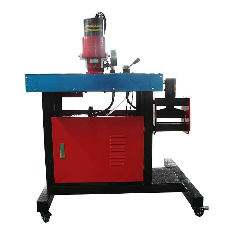 Three-station busbar processing machine JPMX-301B