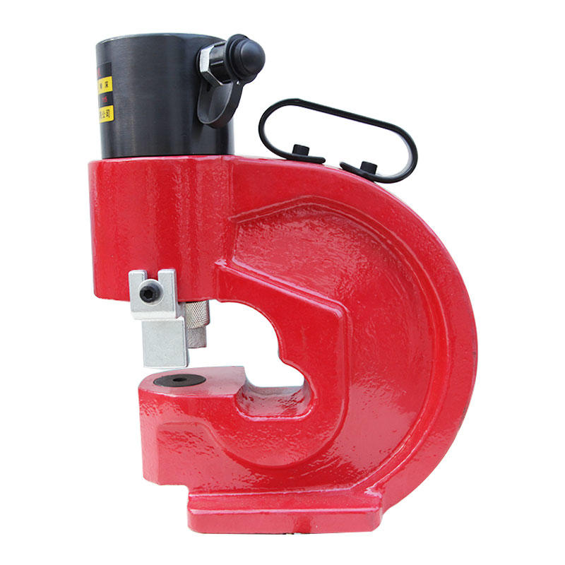 Hydraulic busbar punching machine Portable busbar processing machine
