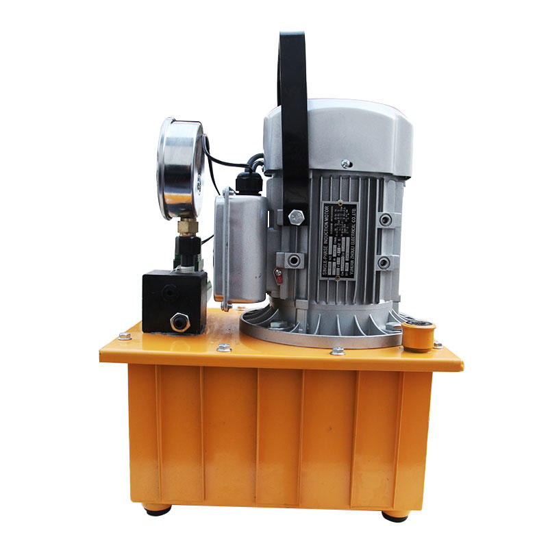 Hydraulic electric pump Portable busbar processing machine