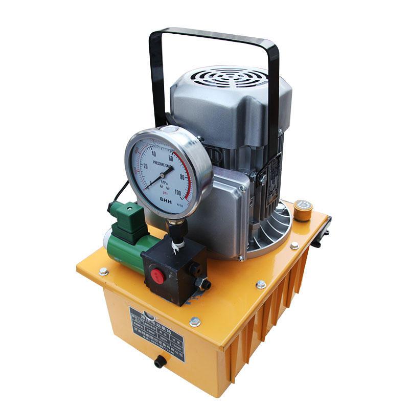 Hydraulic electric pump Portable busbar processing machine