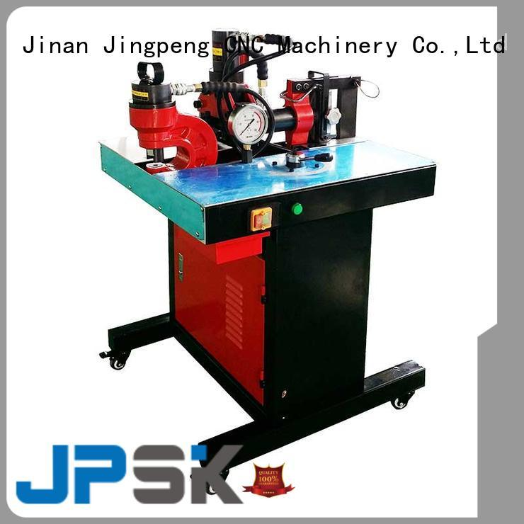 JPSK customized hydraulic punching machine factory for bend the copper for aluminum busbars