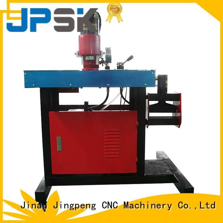 Three-station busbar processing machine JPMX-301B
