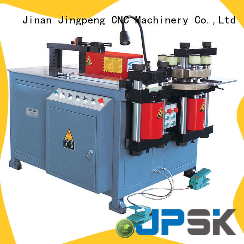 JPSK customized metal bending machine with good price for bend the copper for aluminum busbars