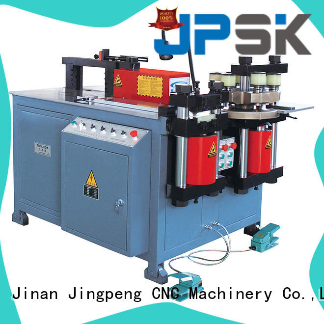 JPSK accurate hydraulic shear inquire now for bend the copper for aluminum busbars