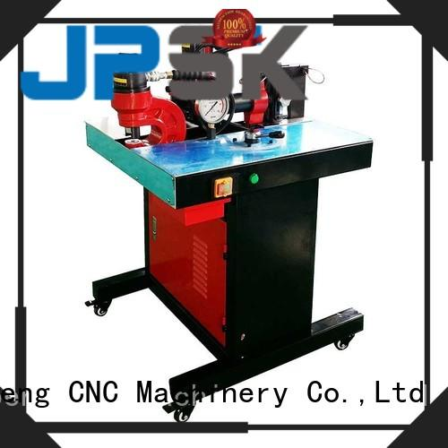 Three-station busbar processing machine punch and shear and bender JPMX-301A
