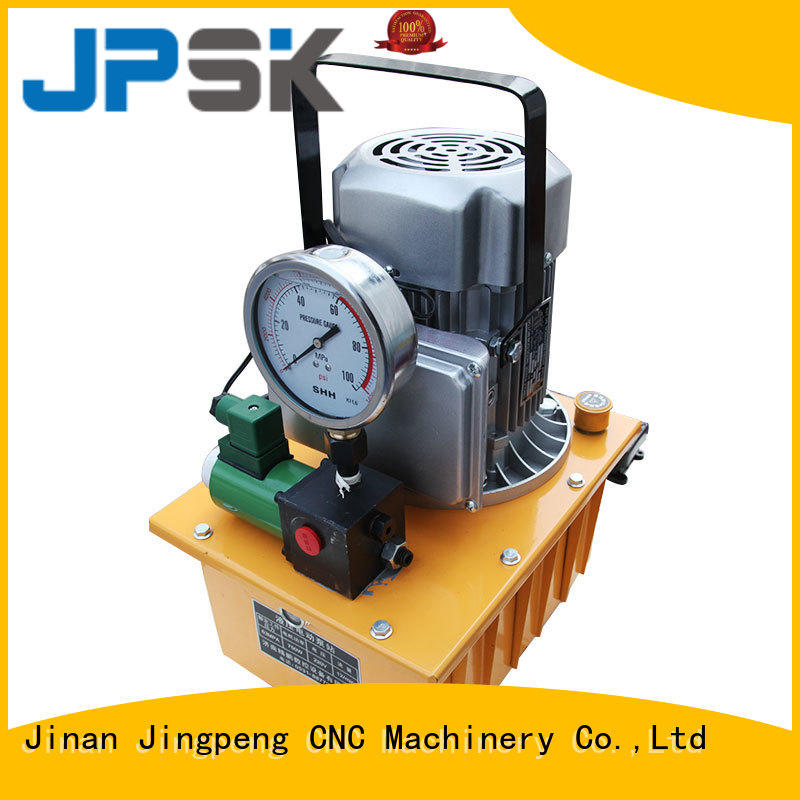 JPSK hydraulic electric pump easy to carry for factory