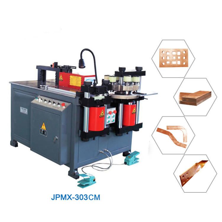 JPMX-303CM busbar processing machine in China