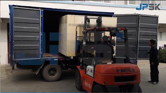 Busbar machine shipping