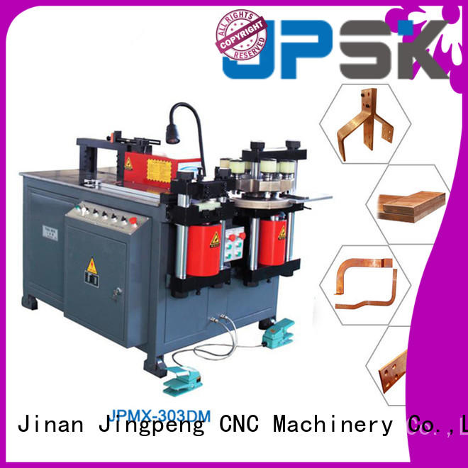 JPSK hydraulic shear factory for bend the copper for aluminum busbars