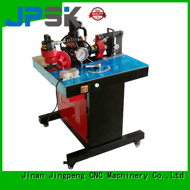 JPSK customized metal shearing machine inquire now for bend the copper for aluminum busbars
