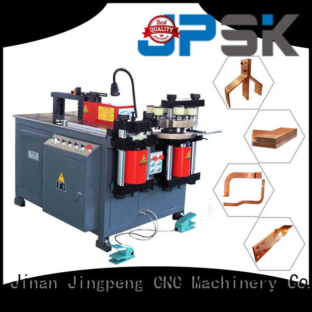 JPSK metal shearing machine factory for bend the copper for aluminum busbars