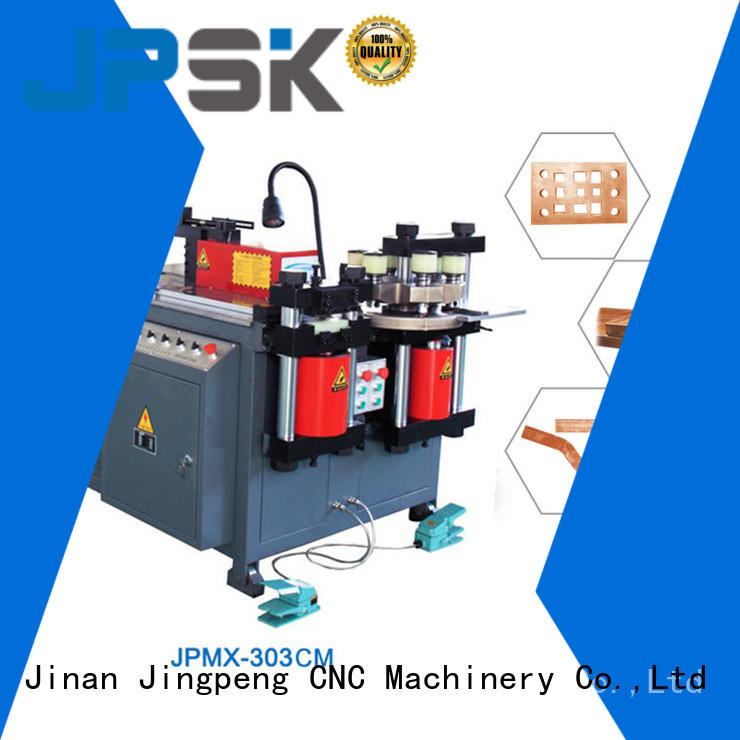 JPSK high quality cnc sheet metal bending machine with good price for bend the copper for aluminum busbars