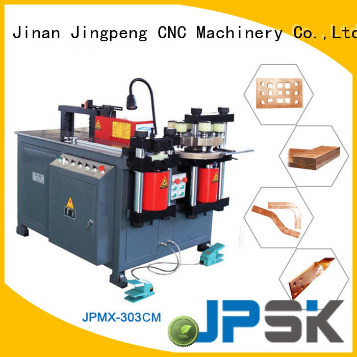 JPSK long lasting metal bending machine factory for bend the copper for aluminum busbars
