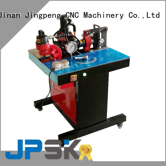 JPSK long lasting cnc sheet metal bending machine factory for for workshop for busbar processing plant