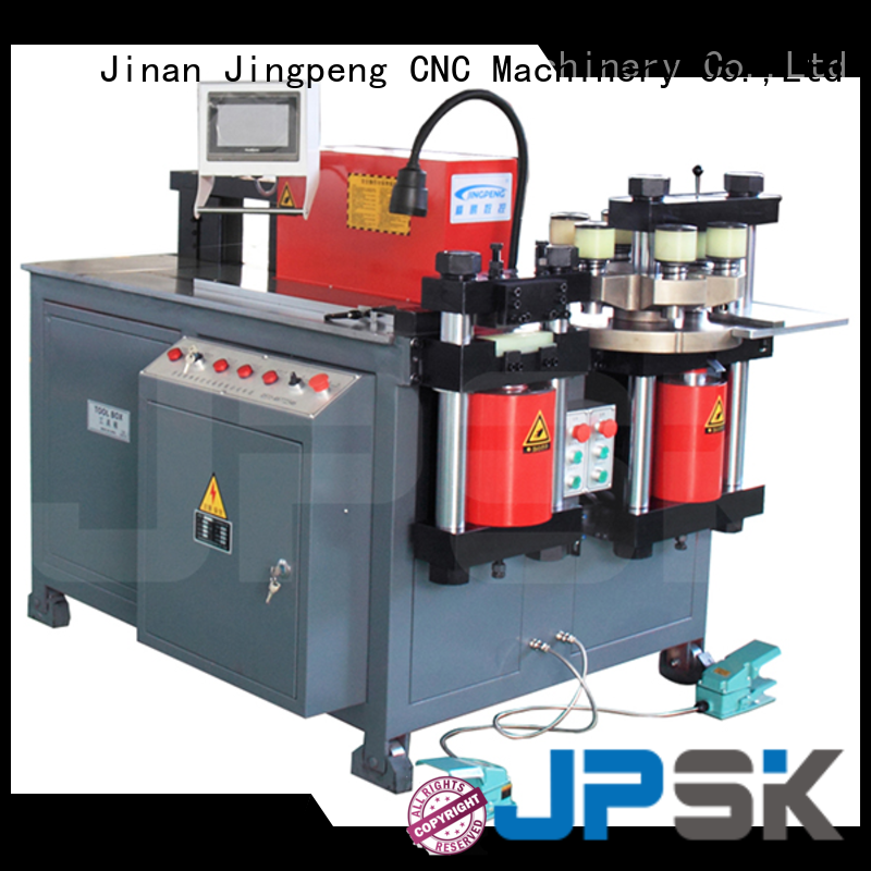JPSK accurate metal shearing machine with good price for for workshop for busbar processing plant