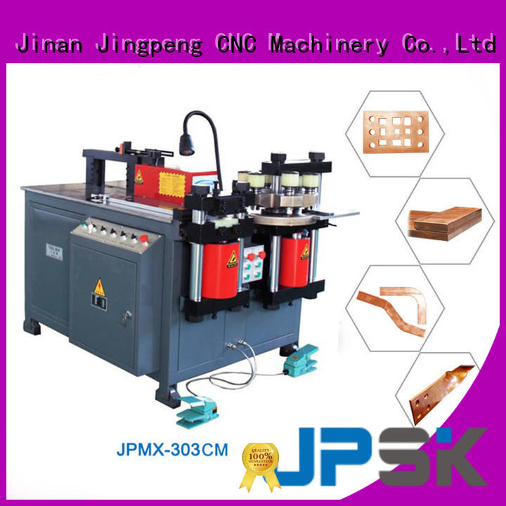 JPSK long lasting metal bending machine with good price for bend the copper for aluminum busbars