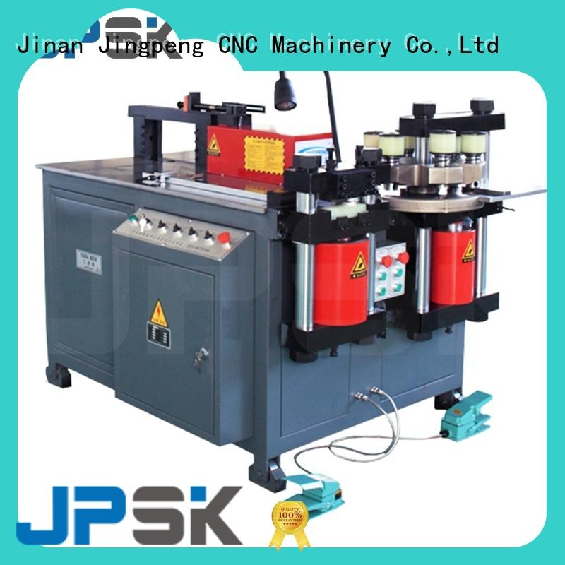 JPSK automatic Non-CNC busbar bending punching cutting machine wholesale for worksite