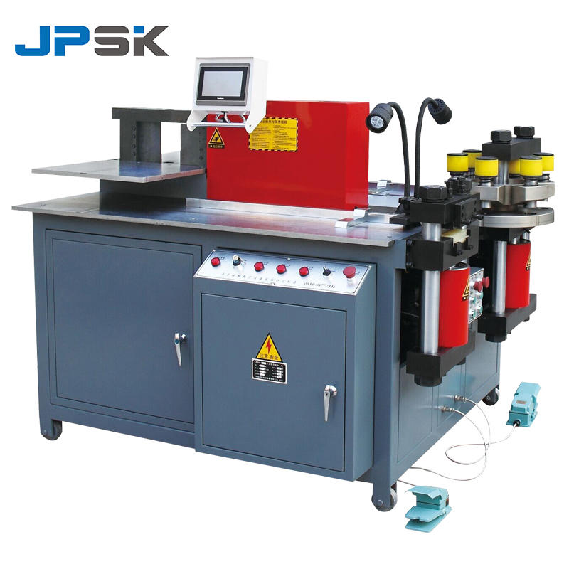 3 In 1 CNC Copper Busbar Cutting Punching Bending Machine