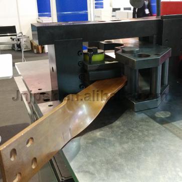 Hydraulic cnc bus bar processing machine