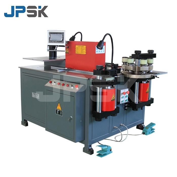 Hydraulic cnc bus bar processing machine