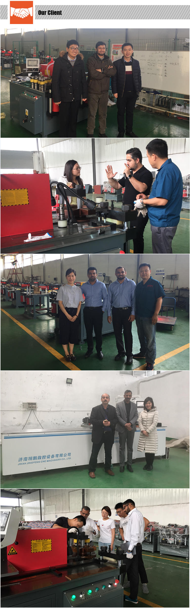 reliable cnc busbar chamfering machine supplier for worksite