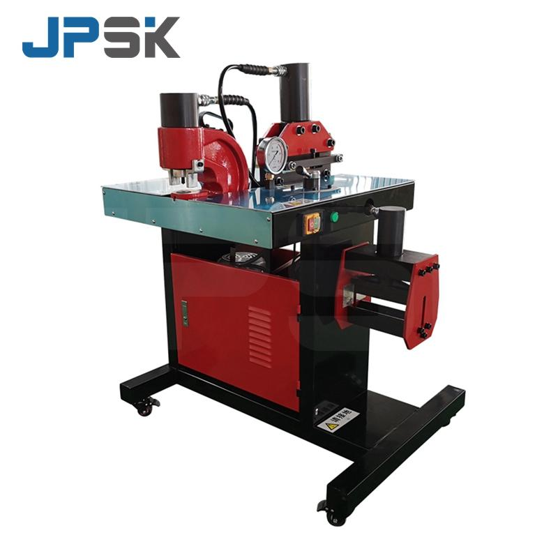 Combined busbar bending punching cutting machine