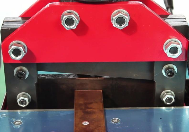 Combined busbar bending punching cutting machine