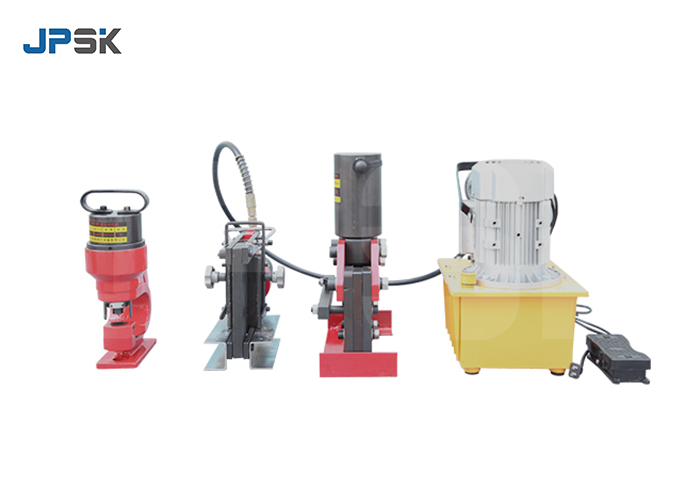 Portable busbar processing machine VIDEO