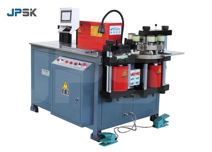 CNC single pump copper busbar punching bending cutting machine JPMX-303CSK video