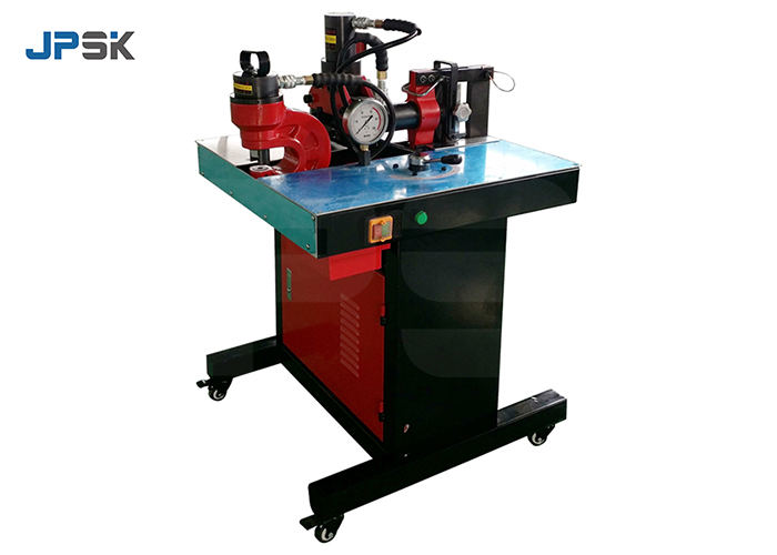 3 in 1 busbar punching bending cutting machine JPMX-301A video