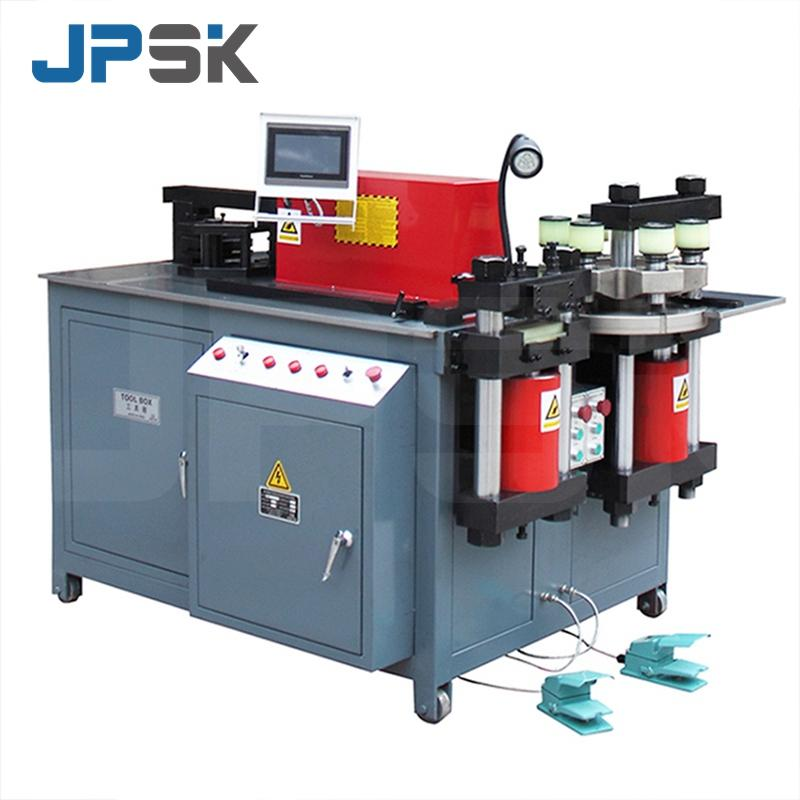 CNC hydraulic busbar processing machine