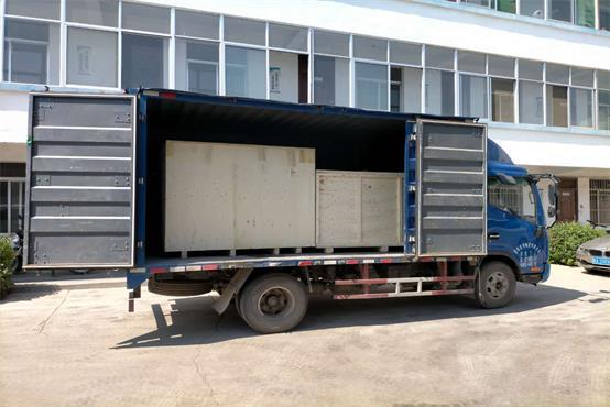 Busbar machine ship to Poland