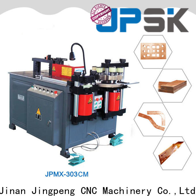 JPSK long lasting hydraulic punching machine design for bend the copper for aluminum busbars