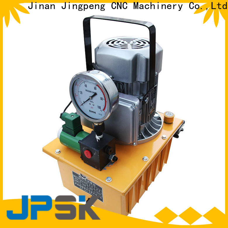 JPSK hot selling hydraulic electric pump easy to carry for factory