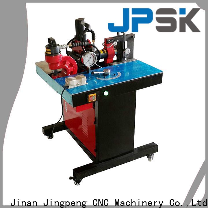 JPSK long lasting hydraulic shear factory for for workshop for busbar processing plant