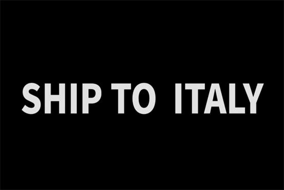 Busbar machine ship to Italy