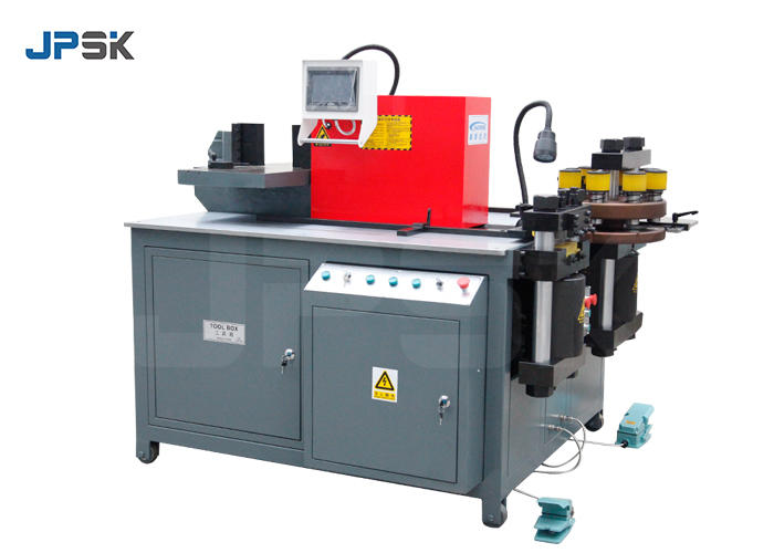 Turret double table busbar processing machine