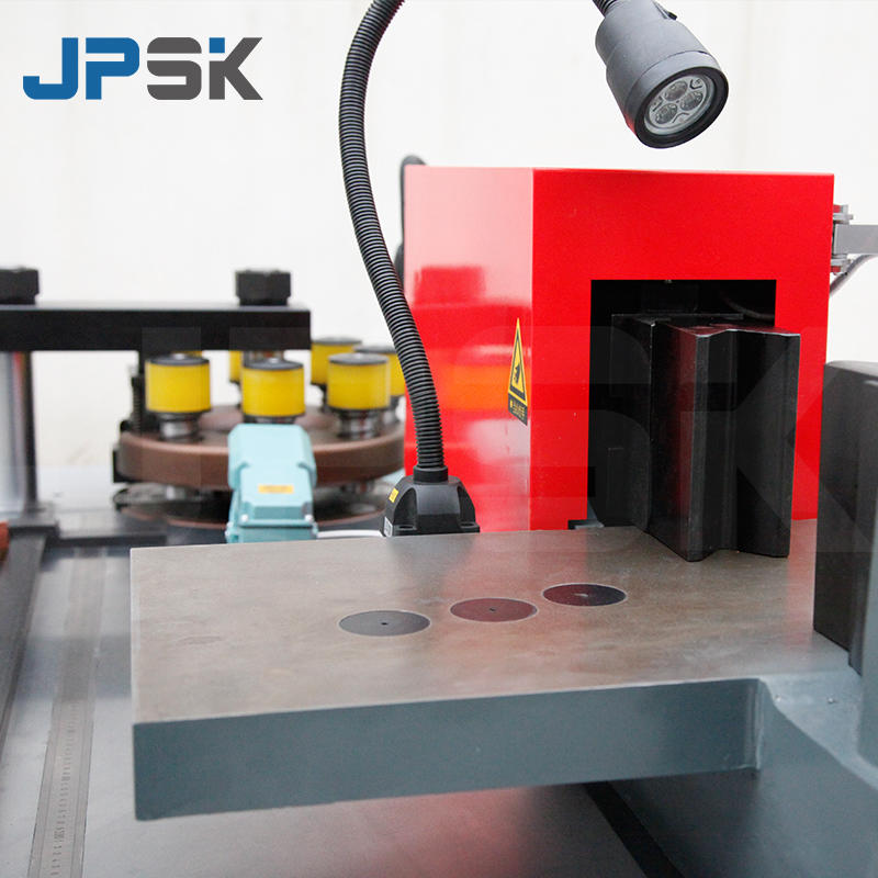 CNC double table busbar processing machine