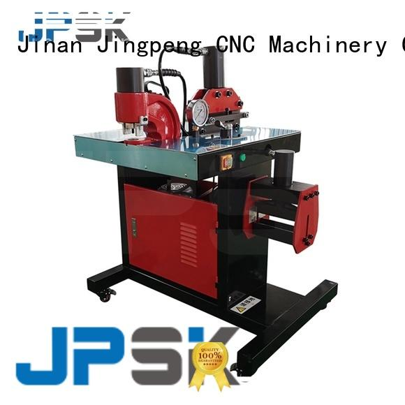 JPSK customized hydraulic punching machine inquire now for bend the copper for aluminum busbars