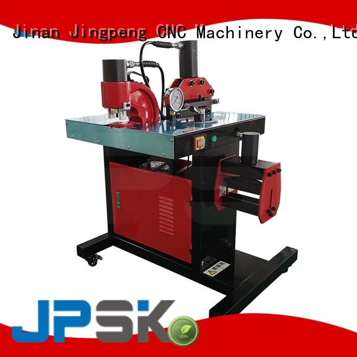 JPSK long lasting hydraulic punching machine with good price for bend the copper for aluminum busbars