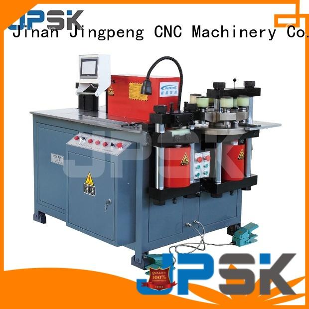 JPSK precise cutting and bending machine promotion for embossing